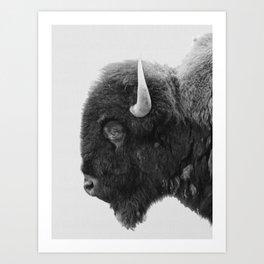 buffalo profile Art Print