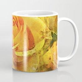 Watercolor Yellow Roses | High Quality On Stretched Canvas Coffee Mug