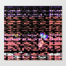 Static XXX Canvas Print