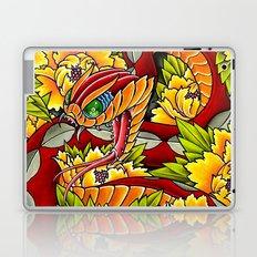 peony viper Laptop & iPad Skin