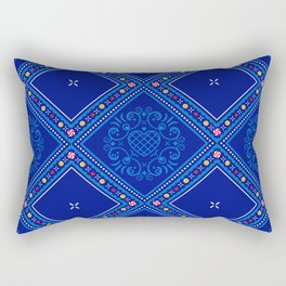 Sweet Winter Blues Rectangular Pillow