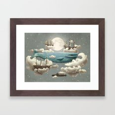 Ocean Meets Sky Framed Art Print