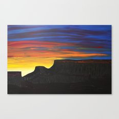 Grand Mesa Sunrise Canvas Print