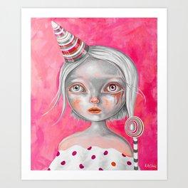 Sucette Art Print