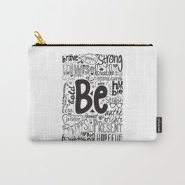 Lab No. 4 - Inspirational Positive Quotes Poster Carry-All Pouch