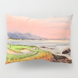 Pebble Beach Golf Course Hole 7 Pillow Sham