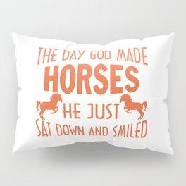 GOD MADE HORSES Pillow Sham