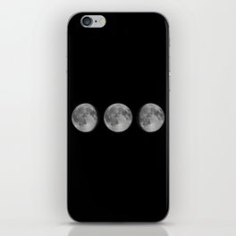 Phases of the Moon.Lunar cycle. iPhone Skin