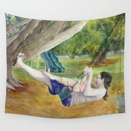Only Way to Fly Wall Tapestry