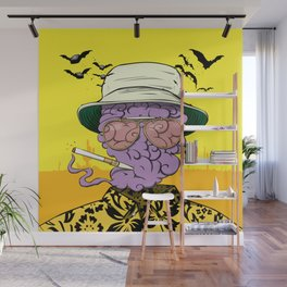 Dr. Gonzo Wall Mural
