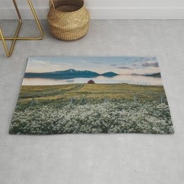 Nordic Summer - Landscape and Nature Photography Rug