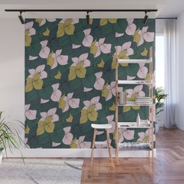 Jungle Floral Wall Mural