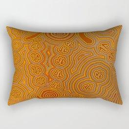 Graffiti Suggestions Rectangular Pillow