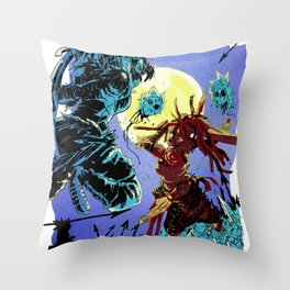 BLOODMEAT!! Throw Pillow