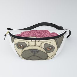 Pug Lover Hello Spring Fanny Pack