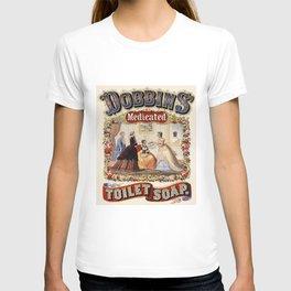 Dobbins' Toilet Soap...It's Medicated T-shirt