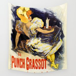 Punch Grassot 1895 Wall Tapestry