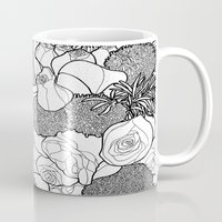 tapestry Mugs featuring Tapestry by Madame Mim