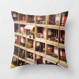 Dollhouse Throw Pillow