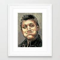 hunter Framed Art Prints featuring Hunter by why would you buy any of these