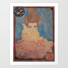 Never Knows Best : Prisoner of the Star(fishes) and Sea. Art Print