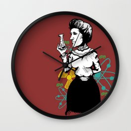 Madame Curie Wall Clock