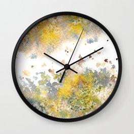 Watercolor Burst IV Wall Clock
