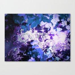 Voilet Woods Canvas Print