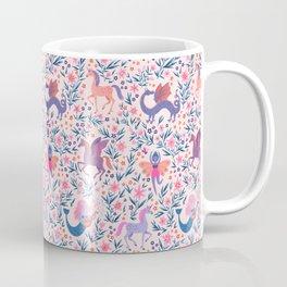 Fairy Folk Floral Coffee Mug
