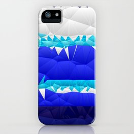 Nautical Inspired Quilted Pattern Design iPhone Case