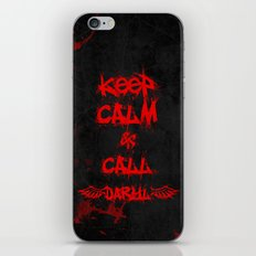 Keep Calm & Call Daryl Dixon!!! iPhone & iPod Skin