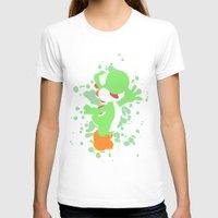 yoshi T-shirts featuring Yoshi by Emerald Bird