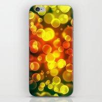 bokeh iPhone & iPod Skins featuring bokeh by davidmichel