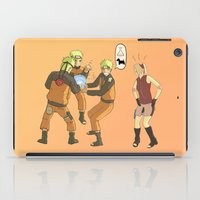naruto iPad Cases featuring Naruto Science by Solidus