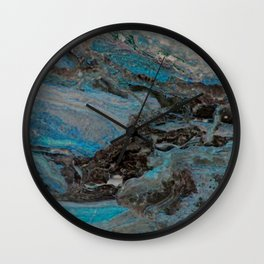 Marble, it is cool, aloof and especially elegant Wall Clock