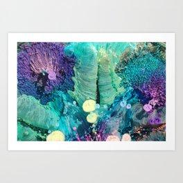 Microcosmos Macro 1 Art Print