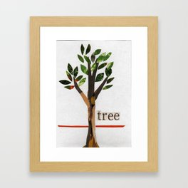Arbor Day Tree Framed Art Print