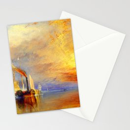 William Turner The Fighting Temeraire Stationery Cards
