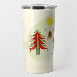 Seasons Greetings Travel Mug