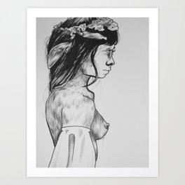 Nymphora Art Print
