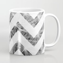Grey Chevron Coffee Mug