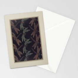 Verneuil - Japanese paper and fabric designs (1913) - 35: Dragonflies Stationery Cards