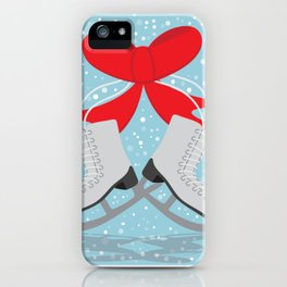 Winter Skates iPhone Case