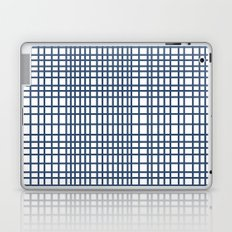 Weave Navy Laptop & iPad Skin