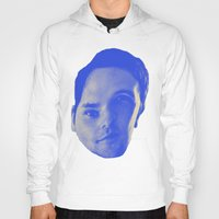 chad wys Hoodies featuring Bad Chad Head by Blake Makes Tees