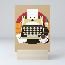 Writer Mini Art Print
