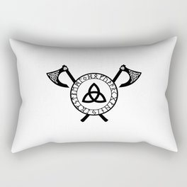 Norse Axe - Celtic Knot Rectangular Pillow