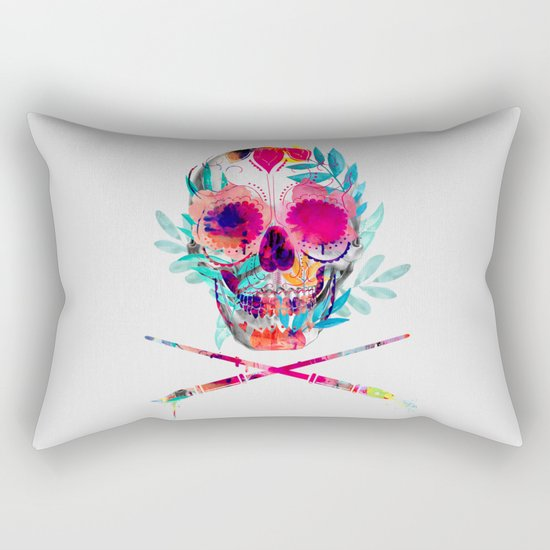 Skull III Rectangular Pillow