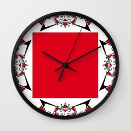 Ange Couronné / Crowned Angel Wall Clock