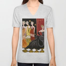 The Three Ugly Stepsisters Unisex V-Neck